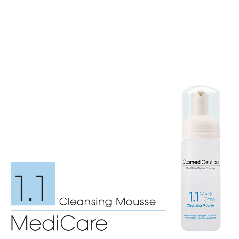 MediCare 1.1 Cleansing Mousse